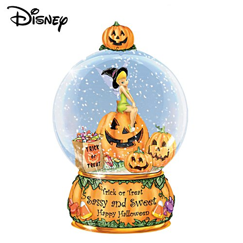 Trick or Treat,Sassy or Sweet, Happy Halloween Water Globe