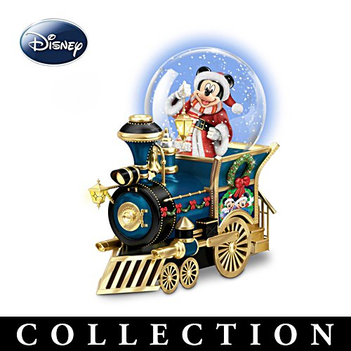 Disney 'Wonderland Express' Snow Globe Train Collection