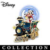 Disney 'Wonderland Express' Snowglobe Train Collection