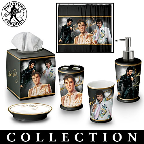 The Elvis Presley™ Bath Ensemble Accessories Collection