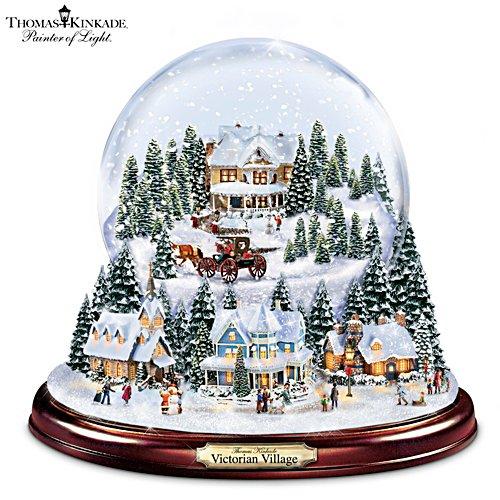 Thomas Kinkade 'Victorian Village' Snowglobe