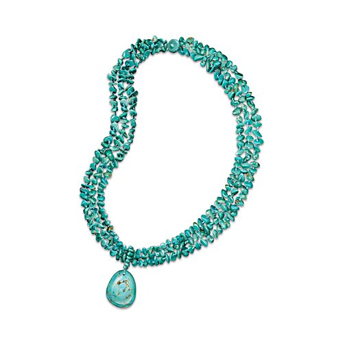 'True Blue' 3-Strand Turquoise Necklace