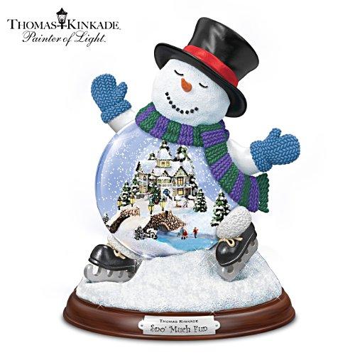 Schneevergnügen – Schneemannfigurine