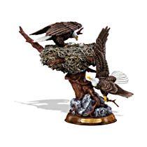 'Winged Guardians' Bald Eagle Sculpture