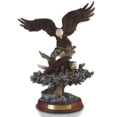 Beschützer des Nestes – Adlerskulptur