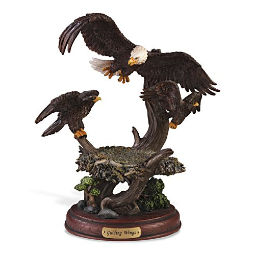 Bald Eagle 'Guiding Wings' Sculpture