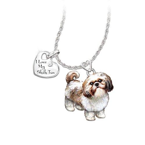 Ich liebe meinen Shih Tzu – Hunde-Anhänger