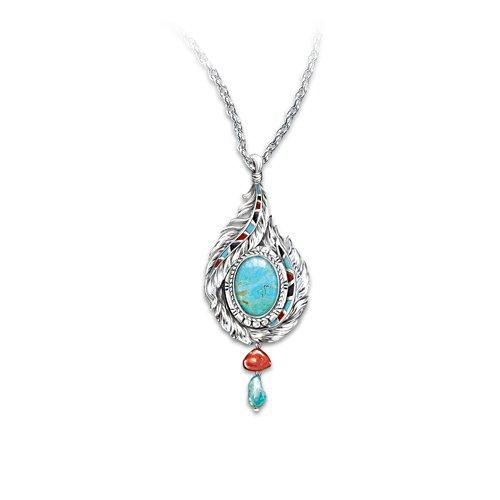 'Sedona Sky' Turquoise Pendant