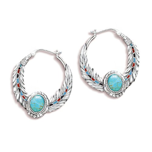 'Sedona Sky' Turquoise Earrings