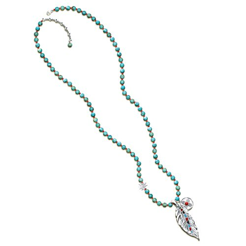 """Sedona Sky"" Turquoise Beaded Necklace"