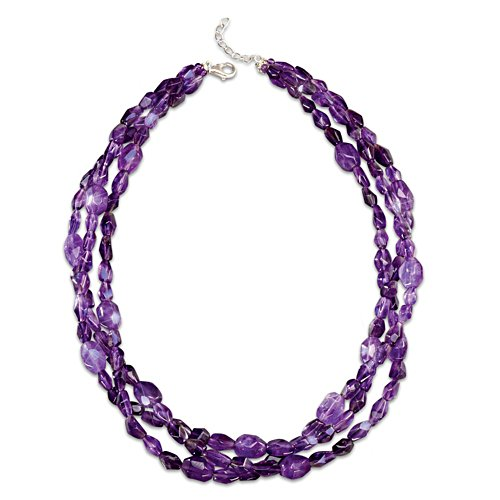 Amethyst Treasure Necklace
