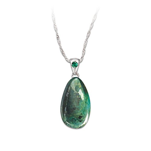 'Nature's Treasure' 25-Carat Emerald Pendant