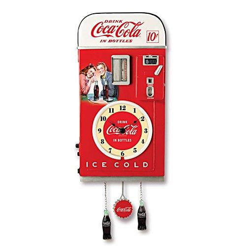 Coca-Cola – Wanduhr in Jukebox-Form