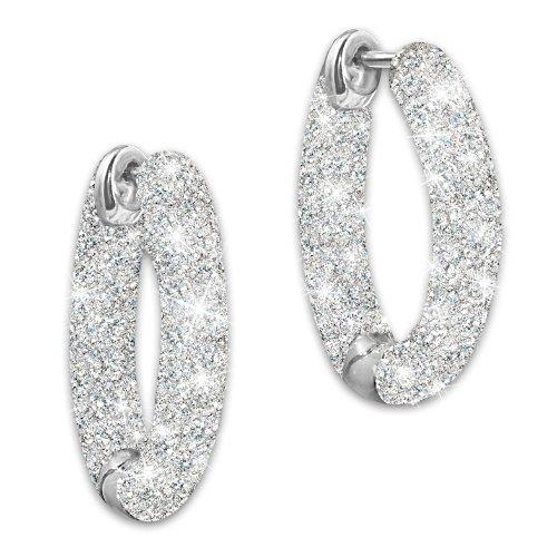 Liebes-Geflüster Diamant Ohrringe