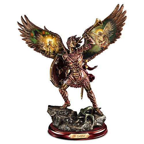 Gabriel: Heavenly Messenger Warrior Bronze Sculpture