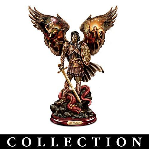 Erzengel des Lichts – Bronzeskulptur-Kollektion
