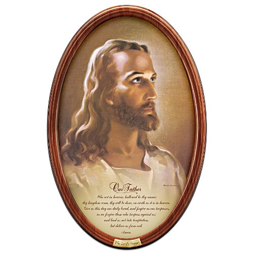 """""""The Lord's Prayer"""" Framed Collector Plate"""