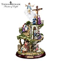 Thomas Kinkade 'Life Of Christ' Sculpture