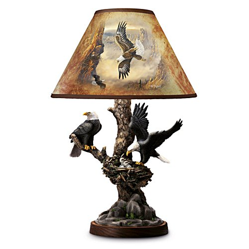 Majestätisk Örn Bordslampa