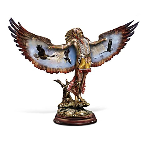 Ted Blaylock Cold-Cast Bronze Eagle Spirit