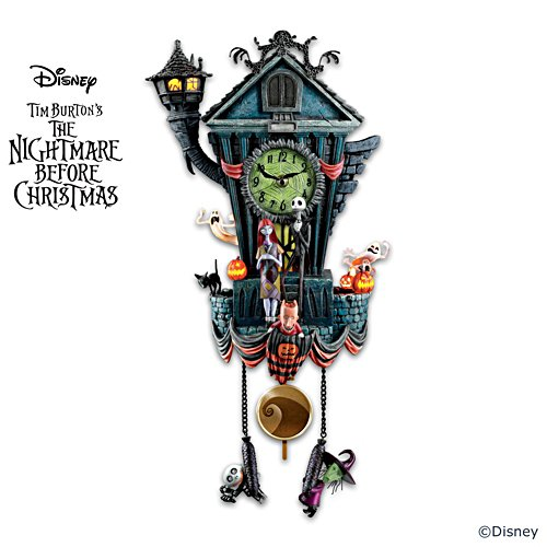Disney Tim Burton's The Nightmare Before Christmas Wall Clock