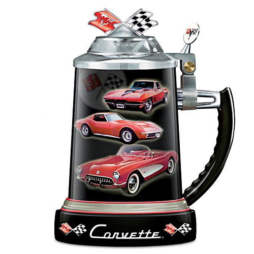Chevy Corvette Commemorative Stoneware Stein