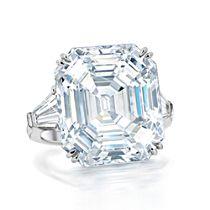 """Hollywood Royalty"" Sterling Silver Diamonesk Ring"