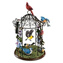 """Songbird Haven"" Gazebo Sculpture"