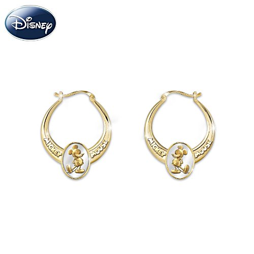 """Celebrate Mickey!"" Commemorative Earrings"