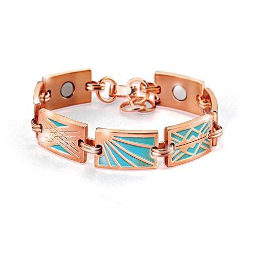 """Healing Rays"" Magnetic Copper Bracelet"