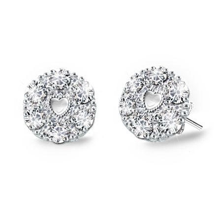 'Precious Daughter' Diamond Earrings