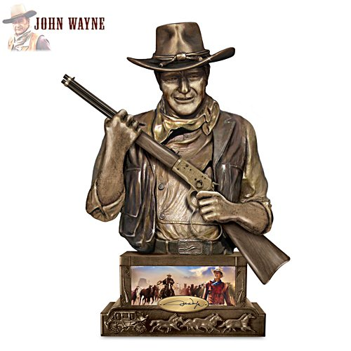 'John Wayne, Guardian' Coin Bank