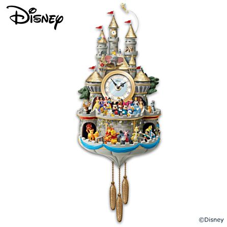Disney 'Timeless Magic' Cuckoo Clock