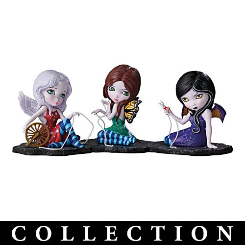 Three Fates Fairy Figurines Collection