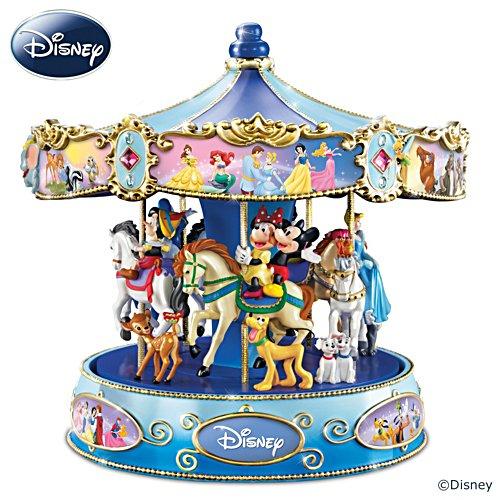 Het prachtige Disney-muziekcarrousel