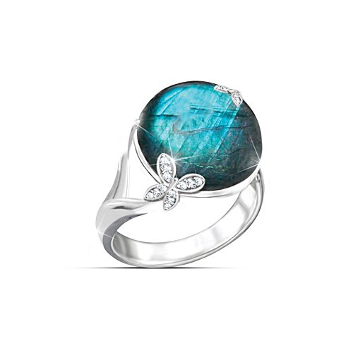 """Amazon Beauty"" Labradorite Ring"