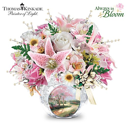 Thomas Kinkade Treasured Moments Centrepiece