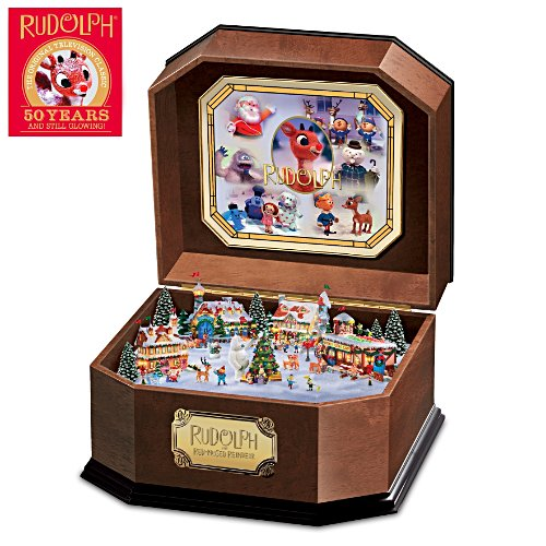"""Rudolph The Red-Nosed Reindeer"" Music Box"