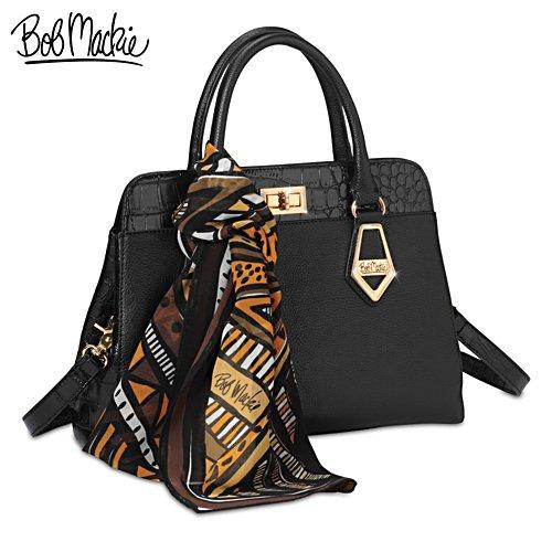 Bob Mackie Rodeo Drive Leather Handbag