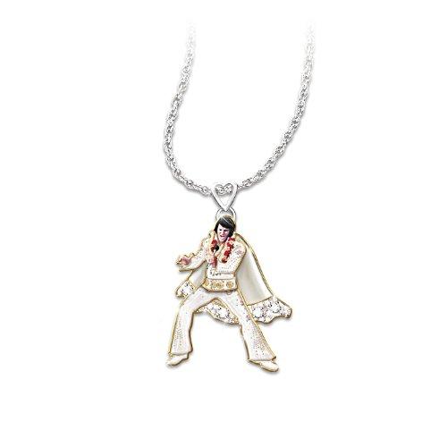 Viva Las Vegas – Halskette mit Elvis Presley-Anhänger