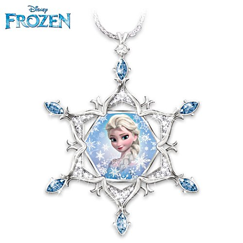 Disney FROZEN Crystal Snowflake Pendant