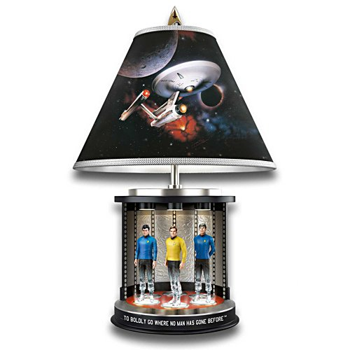 Beam me up, Scotty! – Star Trek Lampe