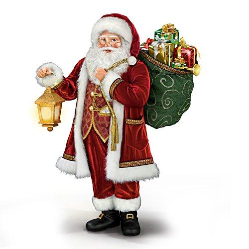 Die Geschenke kommen – Weihnachtsmann-Skulptur