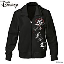 "Disney Mickey Mouse and Minnie Mouse ""Love Story"" Women's Hoodie"