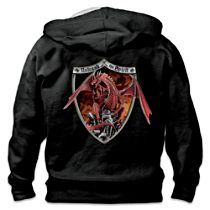 """Unleash The Spirit"" Red Dragon Men's Hoodie"