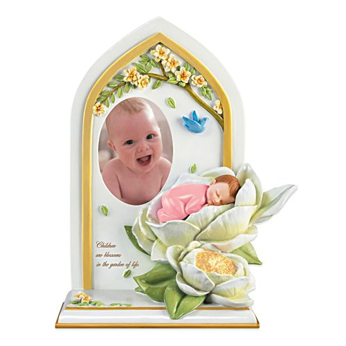 Children Blossoms Baby Photo Frame in Pink