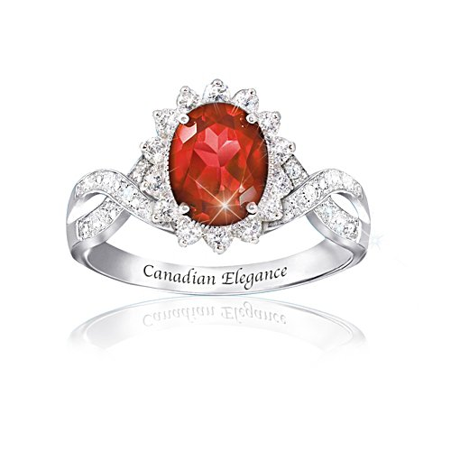 Hjärteblod-DiamoneskTM-ring