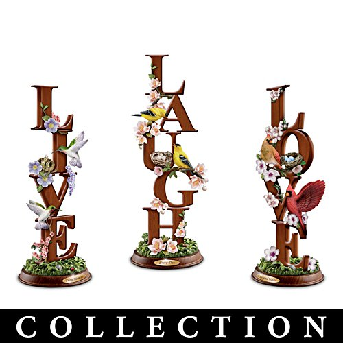 Live, Laugh, Love Sculpture Collection