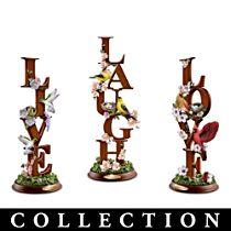 Live, Laugh, Love Sculpture Collection