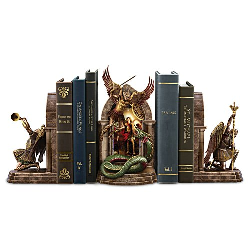 """The Power And The Glory"" Cold-Cast Bronze Legacy Bookends"